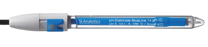 pH Combination Electrode with Sensor Recognition BlueLine 14 pH ID  SI Analytics®