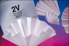 GE Healthcare Folded Filters, Qualitative, Grade 2V