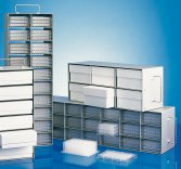 GFL  Racks for Microtiter- and DeepWell Plates for Chest Freezers