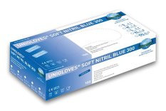 Unigloves  Nitrile gloves Soft Nitril blue